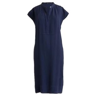 J. Crew Navy Blue Short Sleeve Tunic Dress